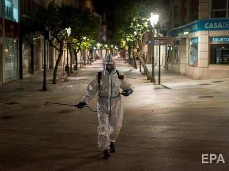 В Іспанії зафіксували рекордну кількість випадків COVID-19 упродовж доби