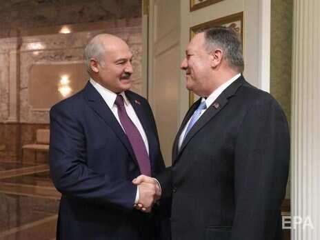 Лукашенко розповів про розмову з Помпео: У нас із ним, знаєте, дуже добрі стосунки